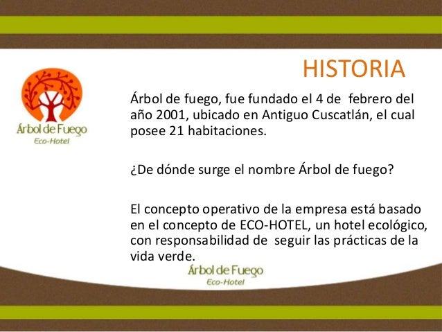Plan de Marketing para Ecohotel Árbol de Fuego, Universidad Dr. José Matías Delgado Slide 3