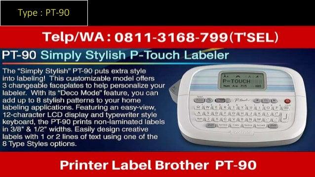 0811 3168 799 Printer Label Brother Pt 1090