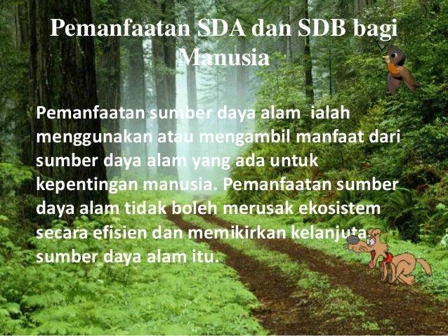 SDA SDM Bagi Manusia