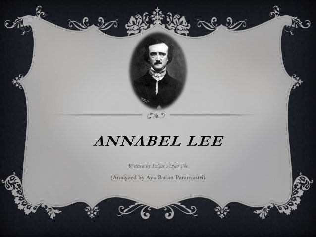 meaning of the poem annabel lee