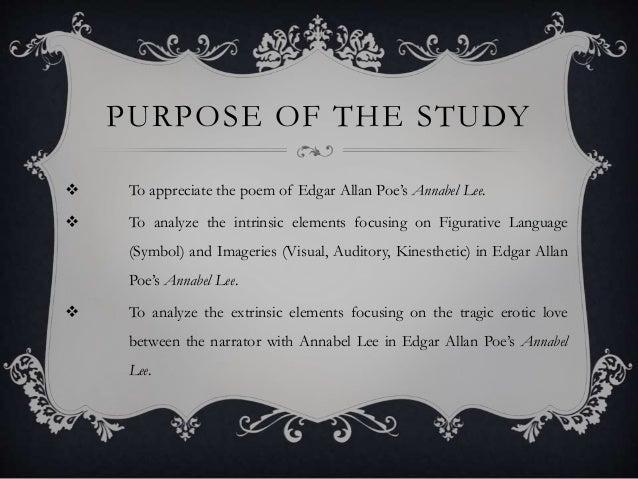 poem analysis annabel lee by edgar A list of popular poems by edgar allan poe, including the raven, annabel lee, and alone.