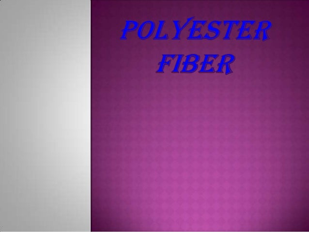  Polyester (aka Terylene) is a category of polymers which contains the ester functional group in their main chain. Polyes...