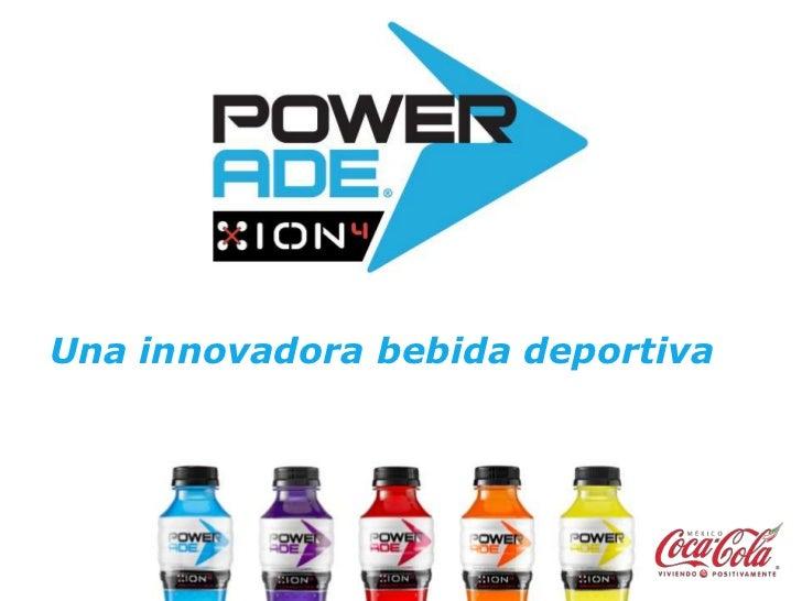 Una innovadora bebida deportiva<br />