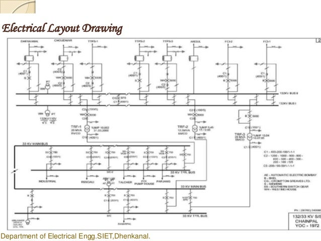 Ppt Power Grid Design. Electrical Layout Drawing. Wiring. Electrical Wiring Schematic Grid Layout At Scoala.co