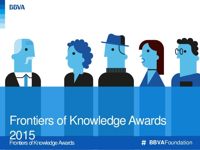 BBVA Foundation Frontiers of Knowledge Award