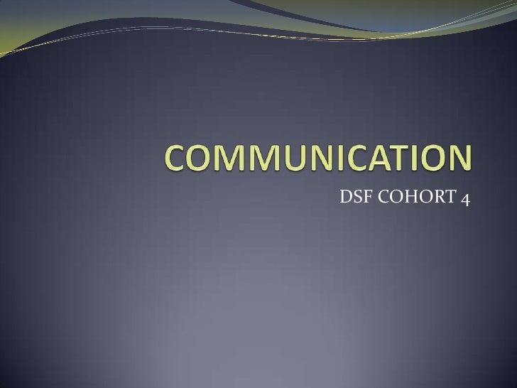 DSF COHORT 4