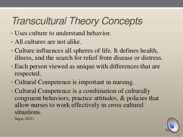 transcultural nursing essay As professionals, nurses need to be aware of cultural differences in order to provide quality care to their patients culturally competent urses are sensitive to issues related to culture.