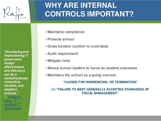 2013 06 05 Internal Controls For Charter Schools