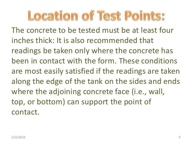 non destructive testing of concrete pdf