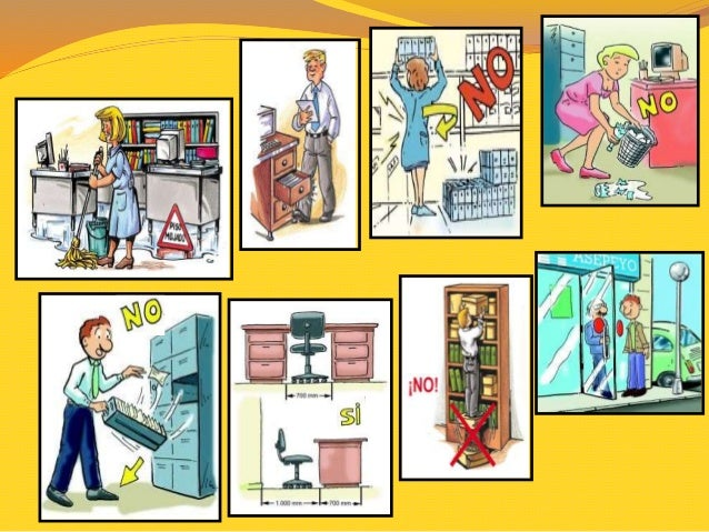 Ppt prevencion riesgos oficina minga for Prevencion de riesgos laborales en la oficina