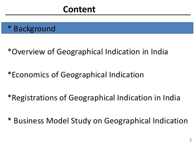 Geographical indications ppt to pdf