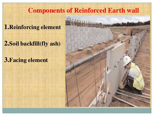 Reinforced earth wall and its design parameters