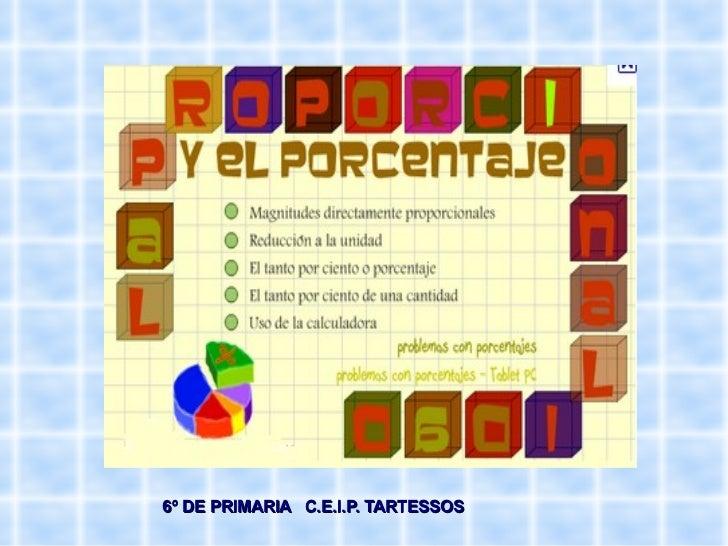 6º DE PRIMARIA  C.E.I.P. TARTESSOS