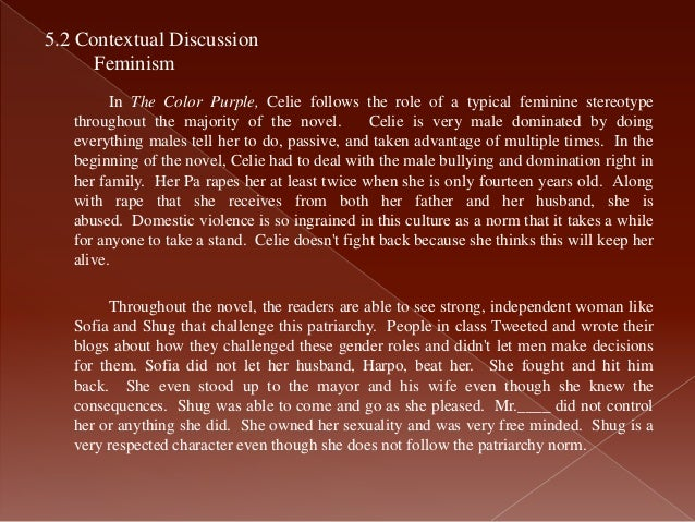 essays on the color purple theme of outsiders in both the color  analysis of the color purple 10 celie the protagonist and narrator of the color purple