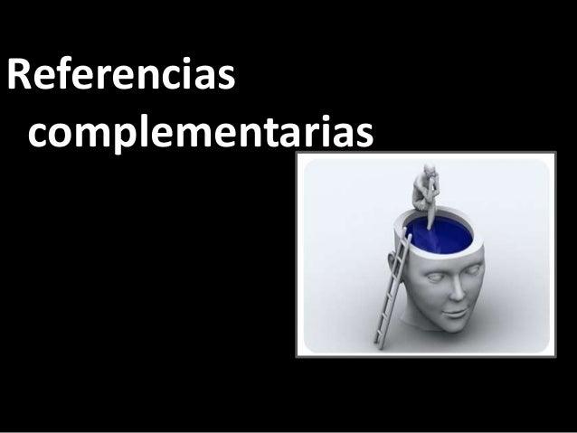 Referencias complementarias