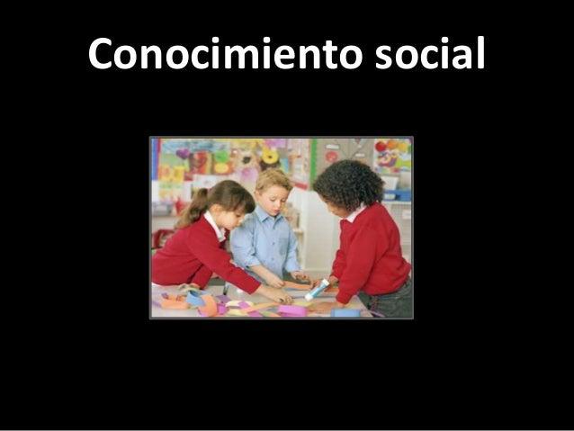 Conocimiento social