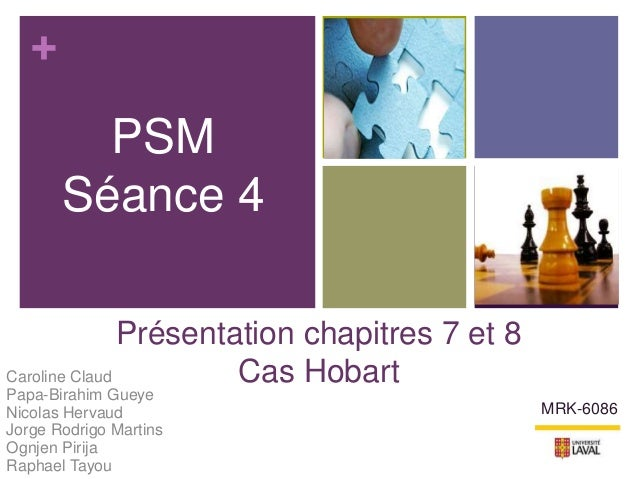 +Présentation chapitres 7 et 8Cas HobartCaroline ClaudPapa-Birahim GueyeNicolas HervaudJorge Rodrigo MartinsOgnjen PirijaR...