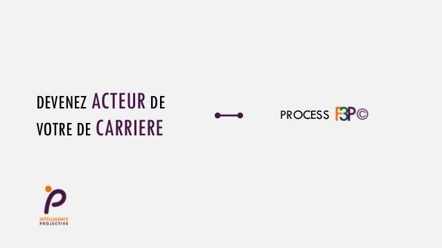 DEVENEZ ACTEUR DE VOTRE DE CARRIERE PROCESS