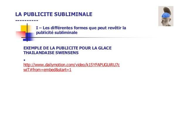 ppt publicit u00e9 subliminale