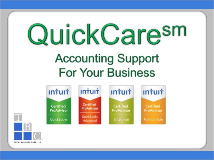 QuickCaresmAccounting Support For Your Business<br />