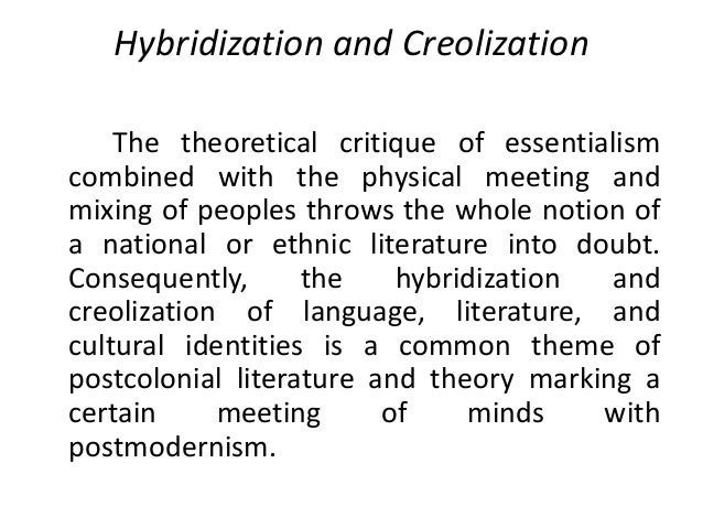 themes and issues in postcolonial literature pdf