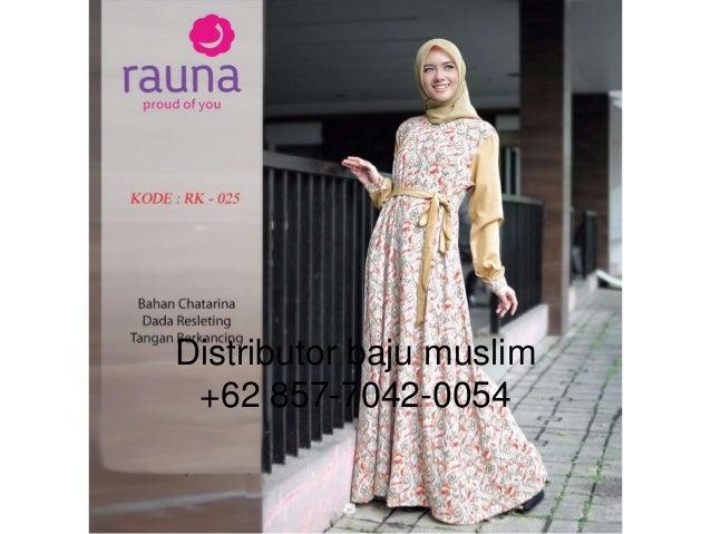 Wa 62 857 7042 0054 Baju Muslim Modern Brokat