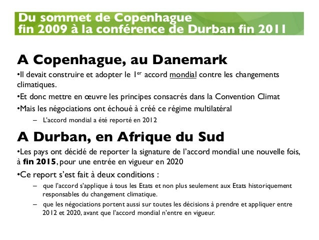 COP21 : Les enjeux