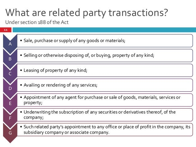 related party transactions essay Related parties and the rules that control the nature of a smsf's interaction with them would probably if surveyed amongst superannuation professionals be an area of.