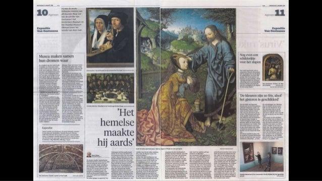 Recensies tentoonstelling Van Oostsanen - De eerste Hollandse Meester