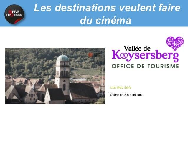Plénière sur la Vidéo au service de la promotion touristique - Intervention de C.Bergamini