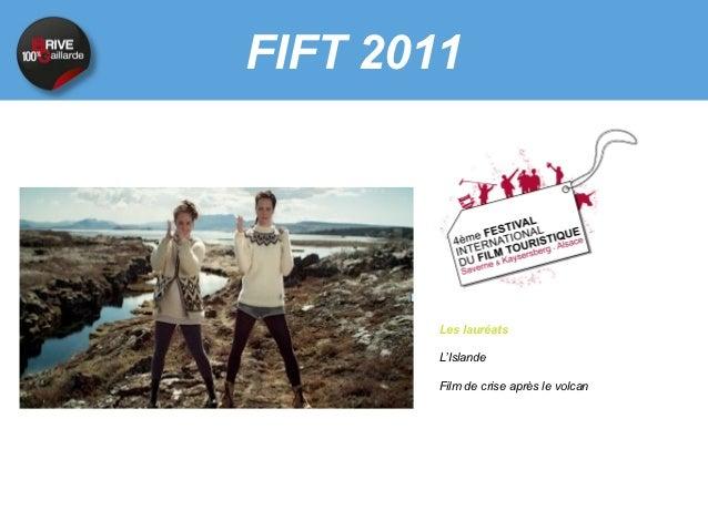 FIFT 2011      Les lauréats      La Suisse      Une série bien faite