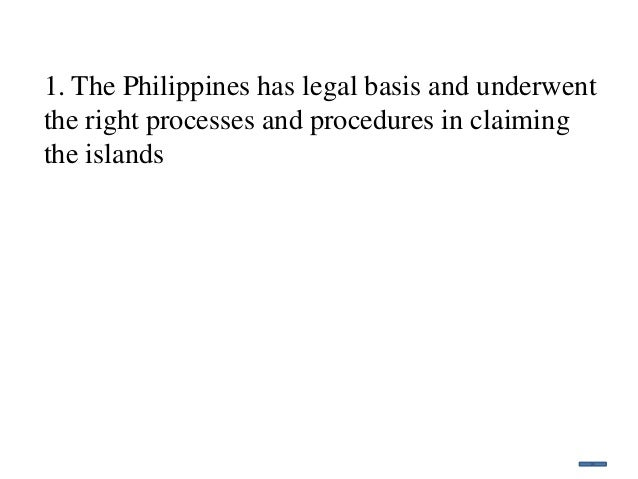 argument paper spratlys island • vietnam, which occupies 21 islands, reefs, and cays in the spratlys, claims incontestable sovereignty of two island-groups in the west philippine sea • the philippines claims sovereignty and jurisdiction in the spratlys within its kalayaan island group (kig) using the roman principle of dominium maris and the international.
