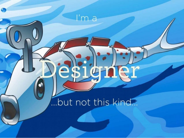 UX designer visual resume Slide 3