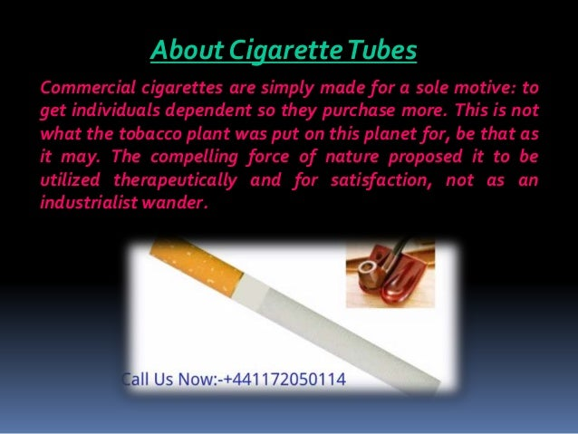 Revolutionize The World With The Best Cigarette Tubes
