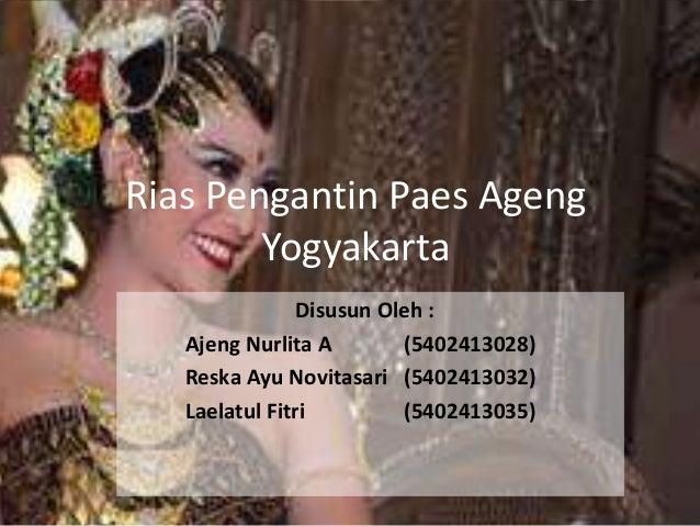 Pengantin Paes Ageng Yogyakarta