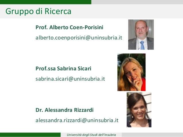 PRESENTAZIONE ALESSANDRA RIZZARDI Slide 2