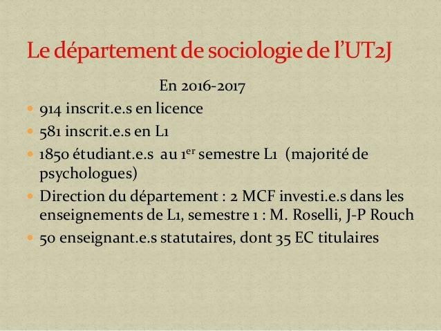 Informer activement les lycéens pour une meilleure orientation : l'exemple de la sociologie Slide 2