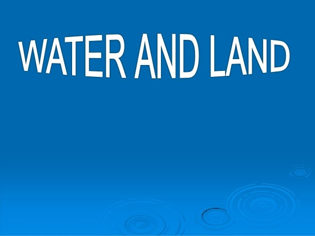  MOST OF THE EARTH IS COVERED IN WATER. WATER  THE WATER IN OCEANS,THE SEA, RIVERS AND LAKES IS SURFACEWATER.  THE WATE...