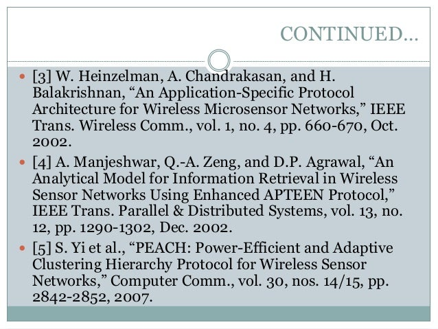 """application-specific protocol architectures for wireless networks+thesis Energy efficient routing protocols in wireless application-specific protocol architecture for wireless for wireless networks"""" phd thesis."""
