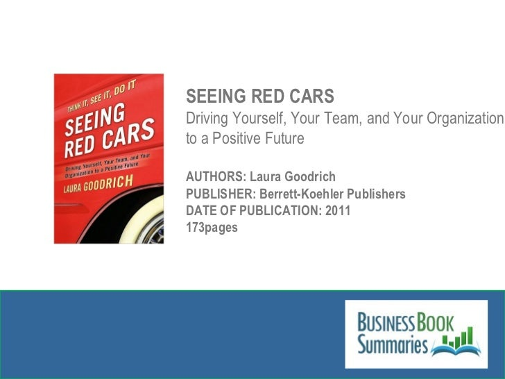 Seeing Red Cars Slide 2