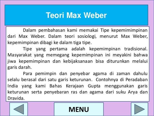 pokok pokok pikiran max weber the theory Max weber mendefinisikan sosiologi sebagai ilmu tentang pikiran dan motif weber mengemukakan pokok-pokok pikirannya tentang birokrasi.