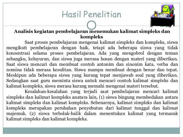 Contoh Hasil Observasi Dalam Bahasa Jawa - Contoh Caps