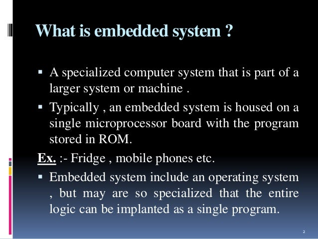 microcontroller and embedded system pdf