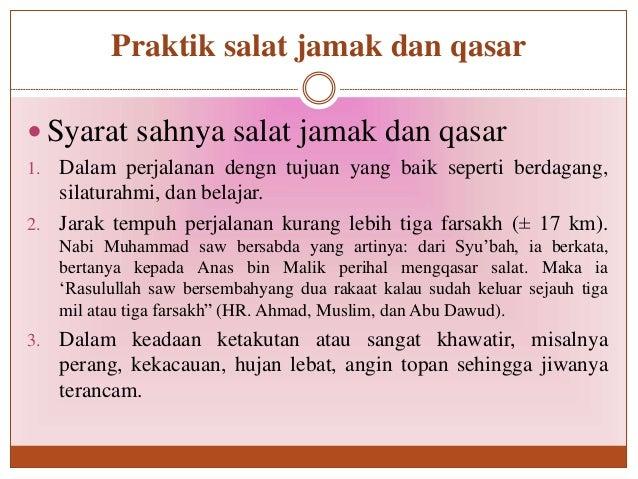 PPT Sholat Jamak dan Qosor ( Pai Kls 1 )