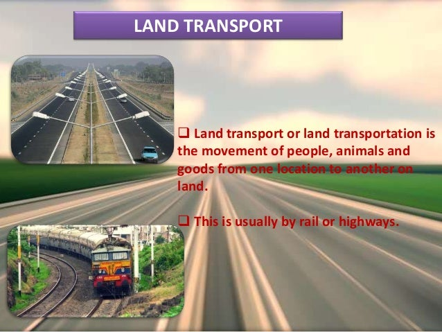 Indian transport and Communication