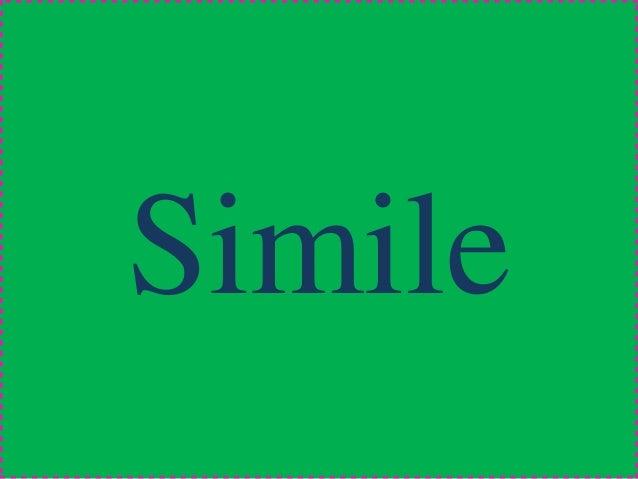 Ppt Simile