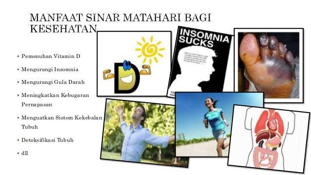 4 Manfaat Sinar Matahari