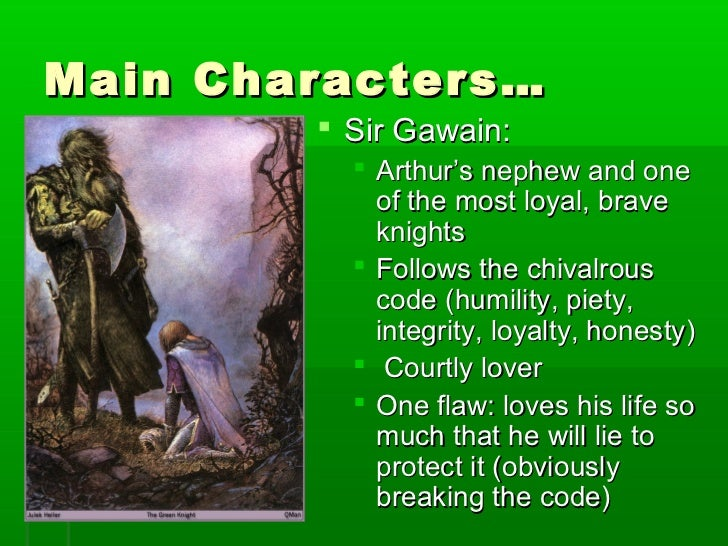 chivalry sir gawain green knight essay Essay on sir gawain and the green knight near the amount of chivalry that sir gawain in sir gawain and the green knight, sir gawain is an.
