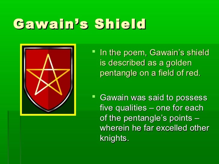 sir gawain and the green knight pentangle essay