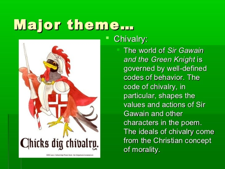 code chivalry essay Text preview chivalry chivalry is a code of conduct associated with the medieval institution of knighthood it was originally conceived of as an aristocratic warrior.